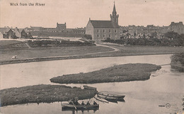 WICK - N° 9366 - FROM THE RIVER - Caithness