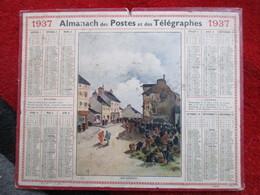 Almanach Des Postes, Télégraphes Et Téléphones / De 1937 - Big : 1921-40