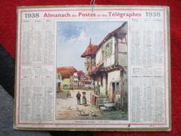 Almanach Des Postes, Télégraphes Et Téléphones / De 1938 - Big : 1921-40
