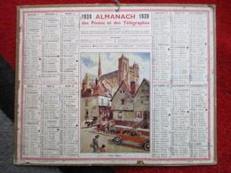 Almanach Des Postes, Télégraphes Et Téléphones / De 1939 - Big : 1921-40