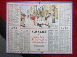 Almanach Des Postes, Télégraphes Et Téléphones / De 1947 - Big : 1941-60