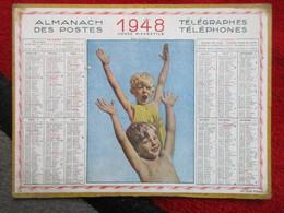 Almanach Des Postes, Télégraphes Et Téléphones / De 1948 - Big : 1941-60
