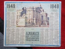 Almanach Des Postes, Télégraphes Et Téléphones / De 1949 - Big : 1941-60