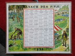Almanach Des P.T.T. / De 1951 - Big : 1941-60
