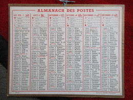 Almanach Des Postes / De 1951 - Big : 1941-60
