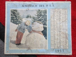 Almanach Des P.T.T / De 1953 - Big : 1941-60