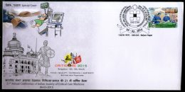 India 2015 Society Of Critical Care Medicine Health ICU Special Cover # 18309 - Medicine