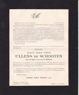 MERXEM WILRYCK Marcel ULLENS De SCHOOTEN Veuf Van De WERVE 1881-1949 - Obituary Notices