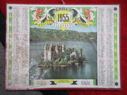 Almanach Des Postes, Télégraphes, Téléphones / De 1955 - Big : 1941-60