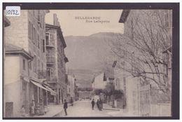BELLEGARDE - RUE LAFAYETTE - B ( PETIT AMINCI AU DOS ) - Bellegarde-sur-Valserine