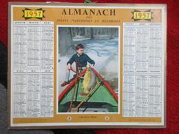 Almanach Des Postes, Télégraphes, Téléphones / De 1957 - Big : 1941-60