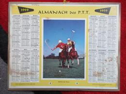 Almanach Des P.T.T / De 1959 / Partie De Polo - Big : 1941-60
