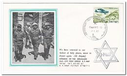 Israel 1967, Opening Of The Jerusalem Old-city Post Office - Brieven En Documenten