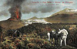Tenerife -  Pico Teide Volcan De Chinyero (animado, 1910) - Tenerife