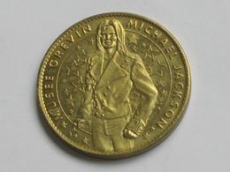 Médaille ARTHUS BERTRAND - MUSEE GREVIN - MICHAEL JACKSON   **** EN ACHAT IMMEDIAT  **** - Arthus Bertrand