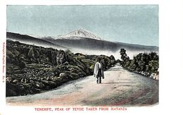 Tenerife -  Peak Of Teyde Taken From Matanza (animado, Animation) - Tenerife