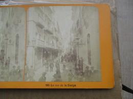 Photo Stereoscopique  Espagne  Seville Rue De La Sierps Sierpe - Stereoscopic