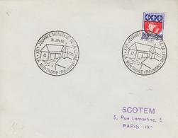 Enveloppe    REUNION   XIIéme  Journée  Mondiale  De  La  Lépre   LA  MONTAGNE    1965 - Lettres & Documents