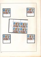 OCB 1163-1168 : Plaatnummers + Datum - Numéros De Planches