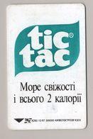 UKRAINE - Kyiv - 1997 - Phonecard Telecard Chip Card - Advertising - TIC TAC - K293 - 1680 Units - - Ukraine