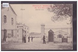 DIJON - QUARTIER JUNO - PUBLICITE CHOCOLAT DEBAUVE & GALLAIS, PARIS - TB - Dijon