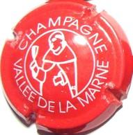 Vallée De La Marne DOM Pérignon N°10, Rouge & Blanc, Des. épais - Champagne