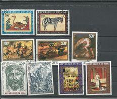 MALI Scott C336-7, C319-1, C329-0, C341-2 Yvert PA334-5, PA315-7, PA326-7, PA339-0* (9) O Cote 6,00$ 1978 - Mali (1959-...)