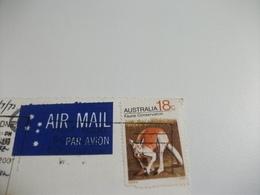 STORIA POSTALE FRANCOBOLLO COMMEMORATIVO AUSTRALIA MURRAY VIEWS  KATOOMBA THE BLUE MOUNTAINS N.S.W. - Australia