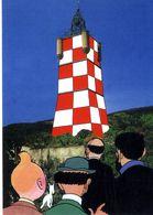 TINTIN  HERGE     XVI° SALON  COLLECTION PASSION  -  DRAGUIGNAN 1997  -  ILLUSTRATION  Jacques Hiron - Stripverhalen