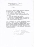 40-45 BRAINE-L'ALLEUD Photocopies Récit évacuation Famille GLIBERT Mai - Juin 1940 Par André GLIBERT Dernier Exemplaire - Documents Historiques