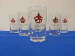 "Verres ""HAVANA CLUB"" Rhum Cuba - Glasses"