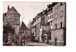 68 Colmar La Rue Des Tanneurs CPSM GF Cachet Colmar 1950 - Colmar