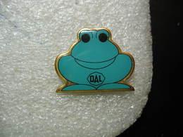 Pin's Grenouille De Couleur Bleue. DAL - Animals