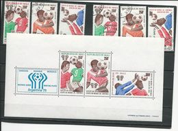 MALI Scott C326-8, C328a, C338-0 Yvert PA322-3-5, BF10A**, PA336-8 (6+bloc) O Et ** Cote 10,00$ 1978 Surcharges - Mali (1959-...)