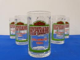 "Verres ""DESPERADOS"" Bière. - Glasses"