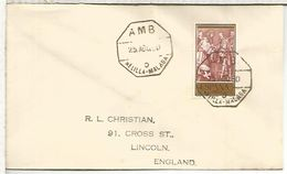 CC CON MAT AMBULANTE MARITIMO 1960 MELILLA MALAGA 6 - 1931-50 Briefe U. Dokumente