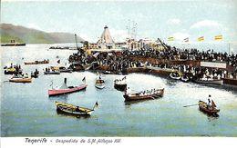 Tenerife -  Despedida De S M Alfonso XIII (animado Coloreada) - Tenerife