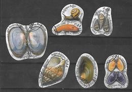 SEPARATION POSSIBLE :  OCB Nr 3419/24 COMPLETE Set Shell Coquille Schelp Fauna - Belgique