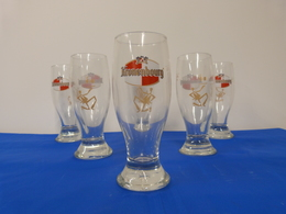 """Verres """"KRONENBOURG"""" Bière. - Glasses"""