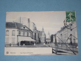 1909 - Malines - Rue Porte De Bruxelles - Malines