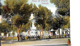 Tenerife -  Plaza De Weyler ( Animado Coloreada) - Tenerife