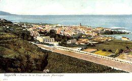 Tenerife -  Puerto De La Cruz Desde Martianez ( Animado Coloreada) - Tenerife