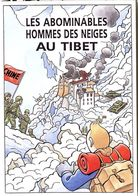 TINTIN  HERGE  TIBET   XVI° SALON  COLLECTION PASSION  DRAGUIGNAN 1997 -  ILLUSTRATION  B VEYRI - Stripverhalen