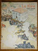 Journal Le Rire 349 1901 Numéro Spécial Course Paris-Berlin Automobile - SEM - Jeanniot - Grandjouan - Léandre - Goussé - Altri