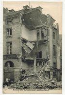 MILITARIA GUERRE 14/18 AMIENS SOMME : La Place Gambetta Après Les Bombardements Allemands - Gambetta Square - Guerre 1914-18