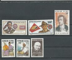 MALI Scott C462-3, C467, 477-8, C468 Yvert PA445-6, PA440, 476-7, PA461 (6) ** Cote 10,75$ 1982-3 - Mali (1959-...)