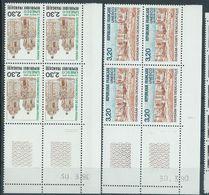 : Services  N° 102 Et 103 UNESCO Coins Datés ** - Servizio