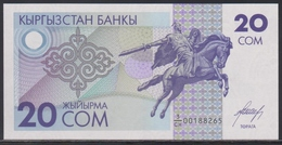 Kyrgyzstan 20 Som (ND 1993) UNC - Kirghizistan