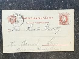 E13 Österreich Austria Autriche Ganzsache Stationery Entier Postal P 27a Von Portole Nach Steyr - Interi Postali