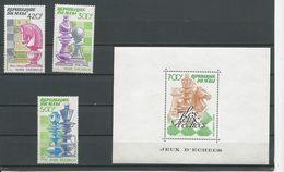 MALI Scott C484-C486, C487 Yvert PA477-PA479, BF21 (3+bloc) ** Cote 14,50$ 1983 - Mali (1959-...)
